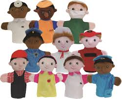 get ready kids multicultural career puppet set of 10