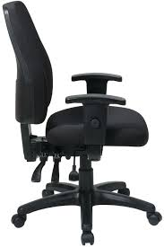 Office Chair Side View 33347 Office Star High Back Dual Function Ergonomic Chair With