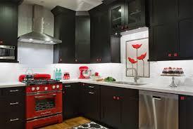 Kitchen Design Color Schemes Red And Black Kitchen Designs Color Scheme Idea 20 Red Black And