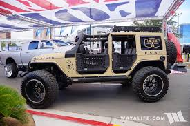 jeep commando 2016 2016 sema lone star 4x4 jeep jk wrangler unlimited