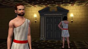 my sims 3 blog roman toga by sr