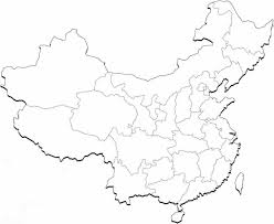 blank china map dr odd