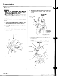 battery honda civic 1999 6 g workshop manual