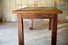 Reclaimed Wood Vanity Table Custom Reclaimed Wood Furniture Reclaimed Wood Farm Table