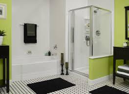 bathroom fancy small bathroom design with green base shower room