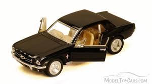 1964 Black Mustang 1964 1 2 Ford Mustang Black Kinsmart 5351d 1 36 Scale Diecast
