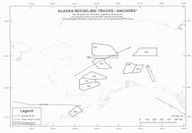 Alaska Air Map Military Comms Us Military Mid Air Refueling Routes Areas