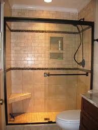 tub shower combo ideas surrounded full tile wall decor glass
