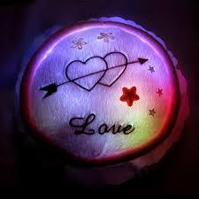 buy love round cake romantic birthday gift to send girlfriend wife