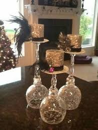Cheap Gold Centerpieces by Painted Wine Bottles Centerpieces 1920 U0027s Great Gatsby Party