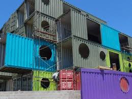 shipping container hotel in chile business insider