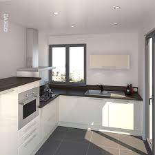 cuisine blanche brillante exceptionnel decoration cuisine blanche indogate deco cuisine