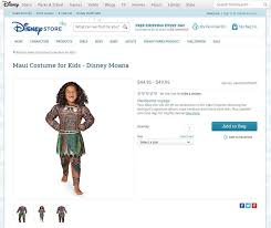 Disney Store Halloween Costumes Disney U0027s Maui Halloween Costume U0027moana U0027 Called