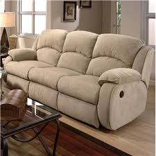 Cagney Powerized Double Reclining Sofa With Pillow Arms By Southern