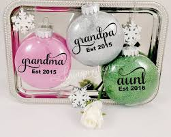 grandparent christmas ornaments 1277 best painted balls ornaments images on glass