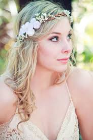 floral headpiece velvet flower white floral wreath wedding accessories