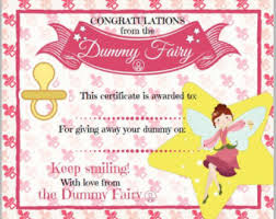 tooth fairy certific etsy