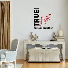 aliexpress com buy creative true love wall sticker together