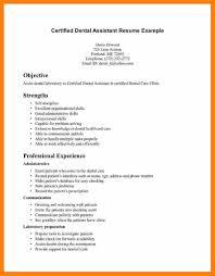 Resume Sample Medical Assistant by Dental Assistant Resumes