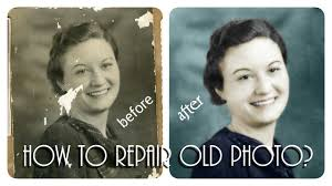tutorial photoshop old picture damage photo repair old photo repair in photoshop restore old photos