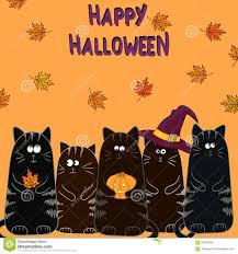 halloween kitties background halloween cats background free here