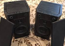 Refurbished Bookshelf Speakers B I C Venturi V52 2 Way Bookshelf Speakers Clean Bic Ebay