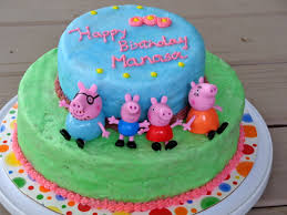 peppa pig birthday cakes a weekend of chocolate birthday cakes egg free and whole wheat