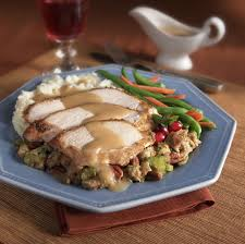 slow cooker thanksgiving stuffing crock pot turkey cutlets with stuffing