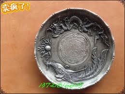 silver dishes of cupronickel miscellaneous antiques ornaments yang