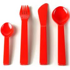 plastic cutlery unbreakable plastic cutlery personalised tableware promotional