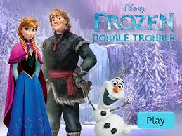 frozen double trouble disney lol games