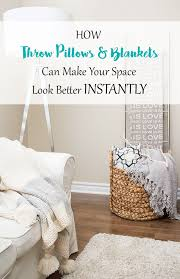 how to place throw pillows on a bed decorating 101 how throw pillows and blankets can make your space