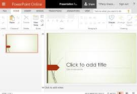wisp powerpoint template