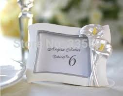 photo frame party favors wedding favor gift and giveaways for guest calla photo frame