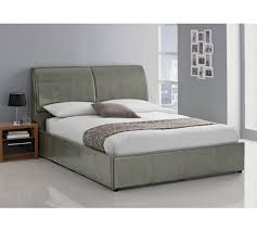 king size ottoman bed frame buy hygena vince kingsize ottoman bed frame grey bed frames argos