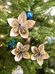 ideas for tree decorating themes diy kusudama paper flower