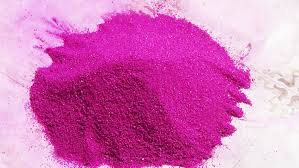 how to make rangoli powder at home with sand pink colour by