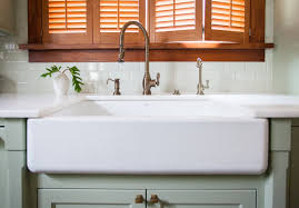 Kohler Farm Sink Protector by Dining U0026 Kitchen Cool Ways To Install Farmhouse Sinks To Your