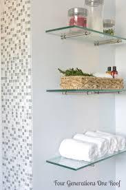 best 25 floating glass shelves ideas on pinterest glass shelves