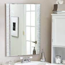 Framed Bathroom Mirror Ideas Decorating Ideas For Bathroom Mirrors Gallery Of Inspiring Modern