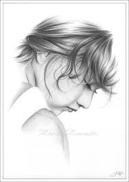 zindy zone dk mixed pencil drawings little sadness