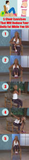 Chair Cardio Exercises The 25 Best Chair Exercises Ideas On Pinterest Stephanie Selter