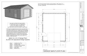 Garage Floor Plans With Living Quarters Equisite Garage Plans For Addition Floor A Apartment Building