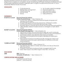 Financial Resume Examples by Homey Design Finance Resumes 2 8 Amazing Finance Resume Examples