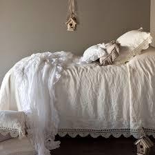 bella notte linens linen whisper bed scarf luxury designer bedding
