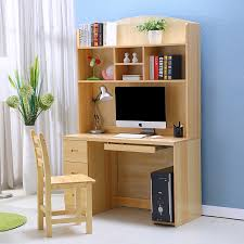 Wood Computer Desk For Home Wood Desktop Computer Desk Study Tables For Children Home With A