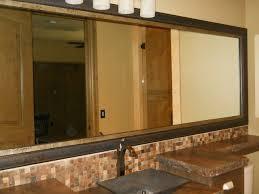 bathroom mirror frames frame decorations