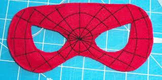 felt superhero mask templates superhero masking and felting