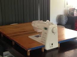 Sewing Machine Cabinets For Pfaff Diy Sewing Machine Extension Table And Sew We Craft