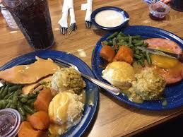 thanksgiving day plates your choice ham or turkey picture of
